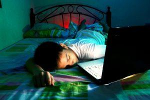 pubers en slaapgebrek
